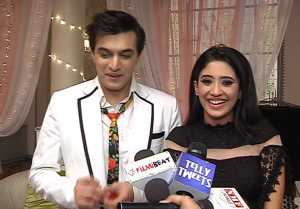 Yeh Rishta Kya Kehlata Hai: Shivnagi Joshi & Mohsin Khan Thank fans for their love; Watch