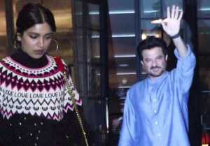 Anil Kapoor & Bhumi Pednekar spotted in stylish outfit outside Soho House