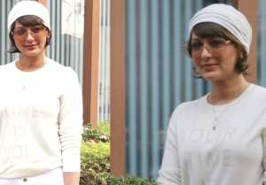 Sonali Bendre recently spotted outside the Facebook office in this look; Watch Video