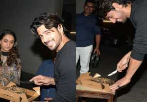 Sidharth Malhotra celebrates his BIRTHDAY with Media; Watch video