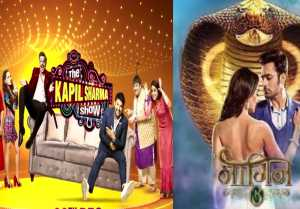 The Kapil Sharma show bags First Position in Online TRP, Naagin 3 fails; Full TRP list