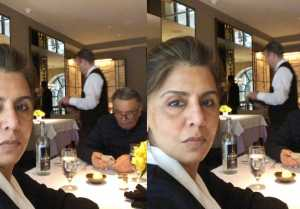 Neetu Kapoor shares what happens after 38 yrs of marriage on lunch date with Rishi Kapoor