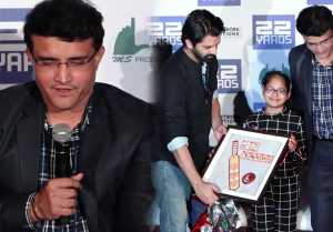 Sourav Ganguly launches trailer of cricketthemed film 22 Yards; Watch Video