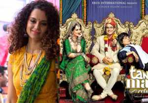 Kangana Ranaut announces Tanu weds Manu 3 after Manikarnika