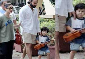 Taimur Ali Khan seems to LOVE music and is now learning to play guitar! Check Out