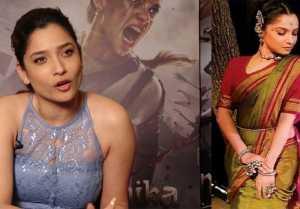 Ankita Lokhande works hard for playing Jhalkari Bai in Manikarnika ; Watch video