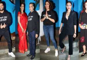 Uri Success Party: Vicky Kaushal, Yami Gautam, Farah Khan & others attend; Watch video