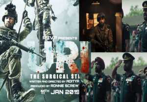Vicky Kaushal's Movie Uri creates 5 big records & shattered many box office records