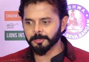 Sreesanth feels LUCKY after winning Best TV Personality Lions Award;  Watch video