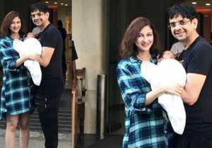 Bhabiji Ghar Par Hain Actress Saumya Tandon Shares First Photo of Her Newborn Son