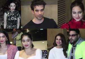 Malaika Arora, Jhanvi Kapoor & Others attend Punit Malhotra's Birthday Bash