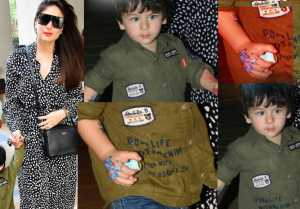 Taimur Ali Khan's Blue Dragon Tattoo becomes centre of attraction, Check Out!