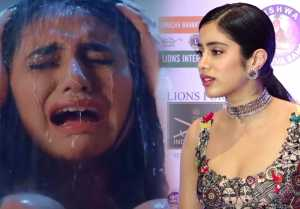 Jhanvi Kapoor reacts on Priya Prakash Varrier's Sridevi Bungalow; Watch Video