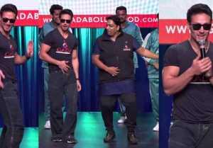 Tiger Shroff's amazing dance at Ganesh Acharya's Dance Academy launch; Watch Video