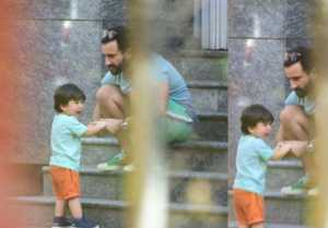 Taimur Ali Khan spotted crying in front of his father Saif Ali Khan; Here's Why?