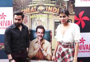 Emraan Hashmi Visits to theater for the promotion of Why Cheat India: Watch Video