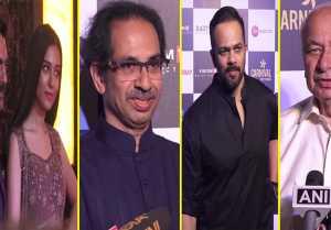 Thackeray Special Screening : Nawazuddin Siddiqui, Rohit Shetty & others attend; UNCUT