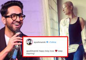 Ayushmann Khurana wishes Tahira Kashyap on her Birthday in special way