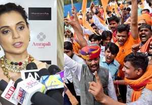 Manikarnika : Kangana Ranaut's EPIC reply to Karni Sena on controversy ; Watch video