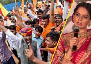 Kangana Ranaut befitting reply to Karani Sena on Manikarnika