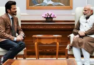 Anil Kapoor shares message for PM Narendra Modi after meeting him ; Check out