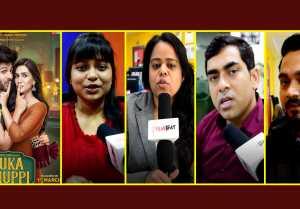 Luka Chuppi Trailer Reaction : Kartik Aryan  Kriti Sanon  Aparshakti Khurana