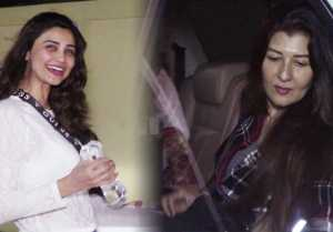 Daisy Shah & Sangeeta Bijlani spotted in No-Makeup Look; Watch Video