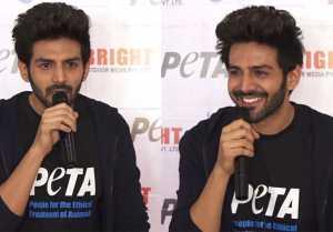Kartik Aaryan becomes the New Face of PETA India, speaks on perks of being a Vegetarian
