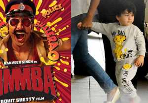 Taimur Ali Khan promotes Ranveer Singh's Simmba; Here's the Proof