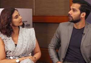 Lisa Ray & Neil Bhoopalam speak about their Web Series called Four More Shots Please