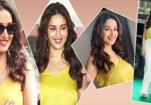 Total Dhamaal Trailer launch: Madhuri Dixit looks cute in million dollar smile & style