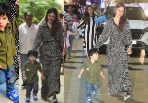 Taimur Ali Khan enjoys Party with Kareena Kapoor Khan; Watch video