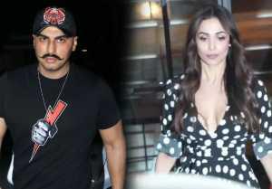 Arjun Kapoor and Malaika Arora SPOTTED at Soho House; Watch Video