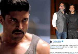 Farhan Akhtar to play boxer for Rakeysh Omprakash Mehra's Movie Toofan