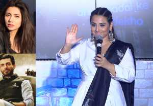 Vidya Balan opens up about banned Pakistani artistes; Watch Video