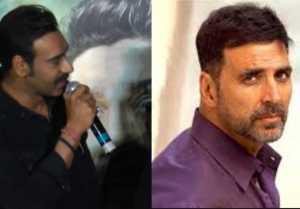 Ajay Devgn feels jittery of Akshay Kumar's films: Here's Why
