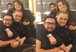 Aamir Khan meets Rishi Kapoor in New York during his treatment; Here's the PROOF