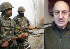 Pulwama: Anupam Kher express his anger on pulwama; Watch Video
