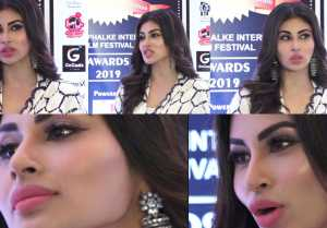 Mouni Roy's befitting reply to reporter on her wrong lip surgery; Watch video