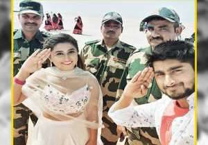 Somi Khan & Deepak Thakur meet soldiers at India Pakistan border; Check out