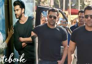 Notebook Trailer Launch: Salman Khan makes GRAND entry at Trailer Launch; Watch Video