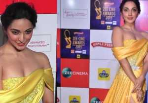 Kiara Advani steals limelight at red carpet of Zee Cine Awards