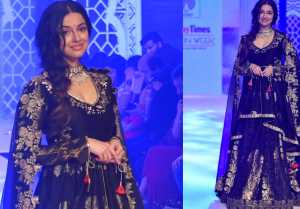 Divya Khosla Kumar walks the ramp as showstopper at Bombay Times Fashion Week