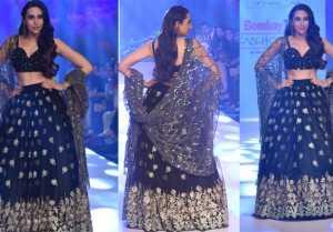 Karishma Kapoor Stuns at Bombay Times Fashion Week 2019; Watch Video