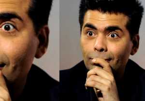 Karan Johar Reacts on liking offensive tweet against Shahrukh Khan