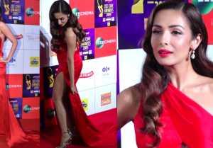 Malaika Arora looks Ravishing at Zee Cine Awards; Watch video