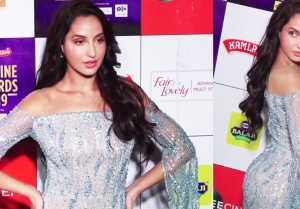 Nora Fatehi looks stunning the red carpet at Zee Cine Awards 2019 ;Watch video