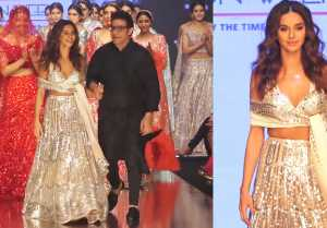 Shibani Dandekar Walks The Ramp At Bombay Times Fashion Week Spring Summer 2019