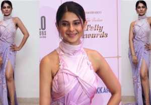 Jennifer Winget dazzles at Indian Telly Awards 2019; Watch video