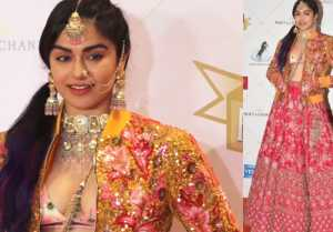 Adah Sharma looks different in Hello Hall of Fame Awards